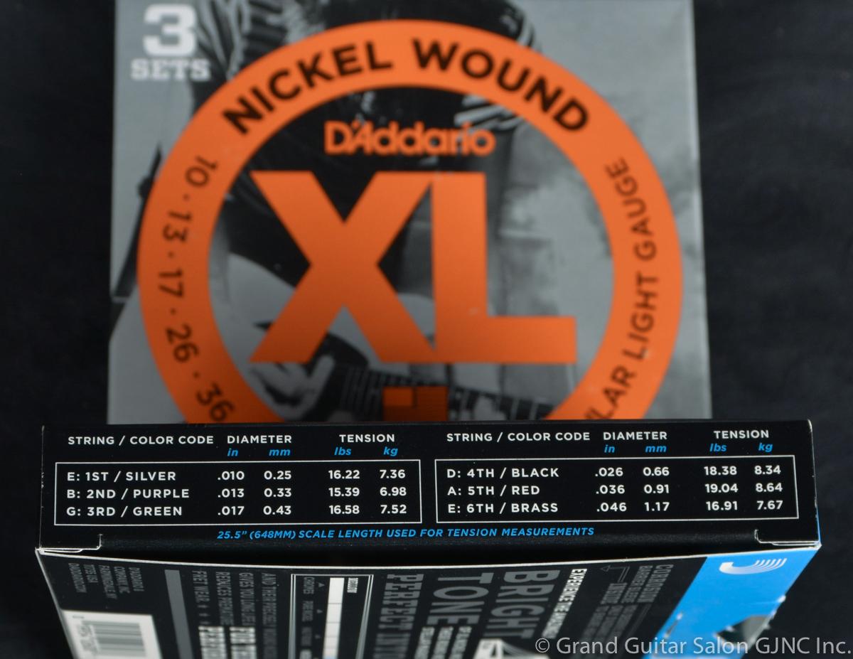 A-193, D'Addario EXL110-3D