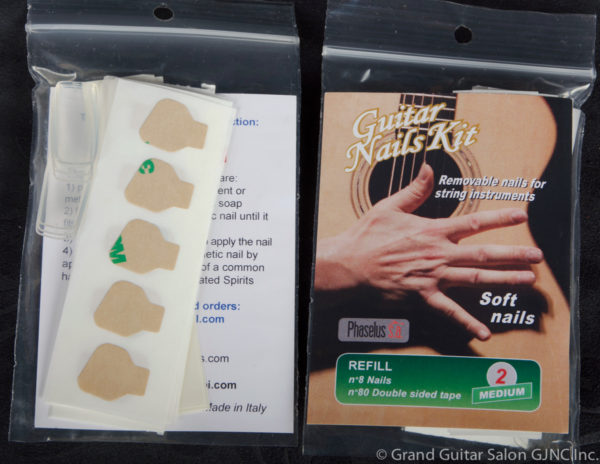 A-179, G.N.K. Soft Nail Refills Medium