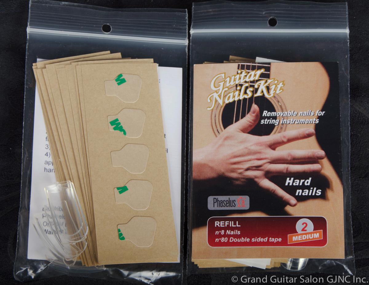 A-182, G.N.K. Hard Nail Refills Medium