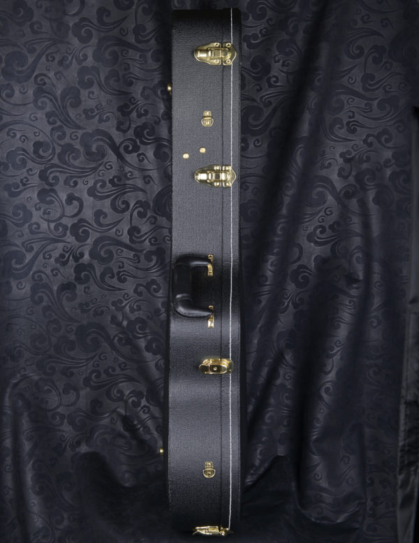 A-104, double arched hard shell classical guitar case