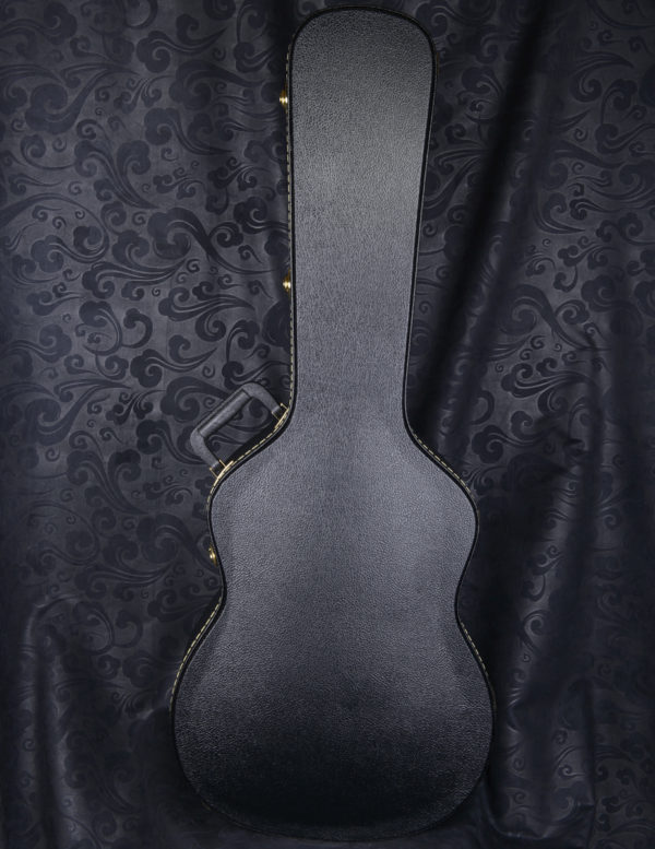 A-103, single arched hard shell classical guitar case